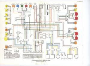 Bedradingsschema CB900F