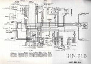 Wiring Diagram CB1100FD Europe