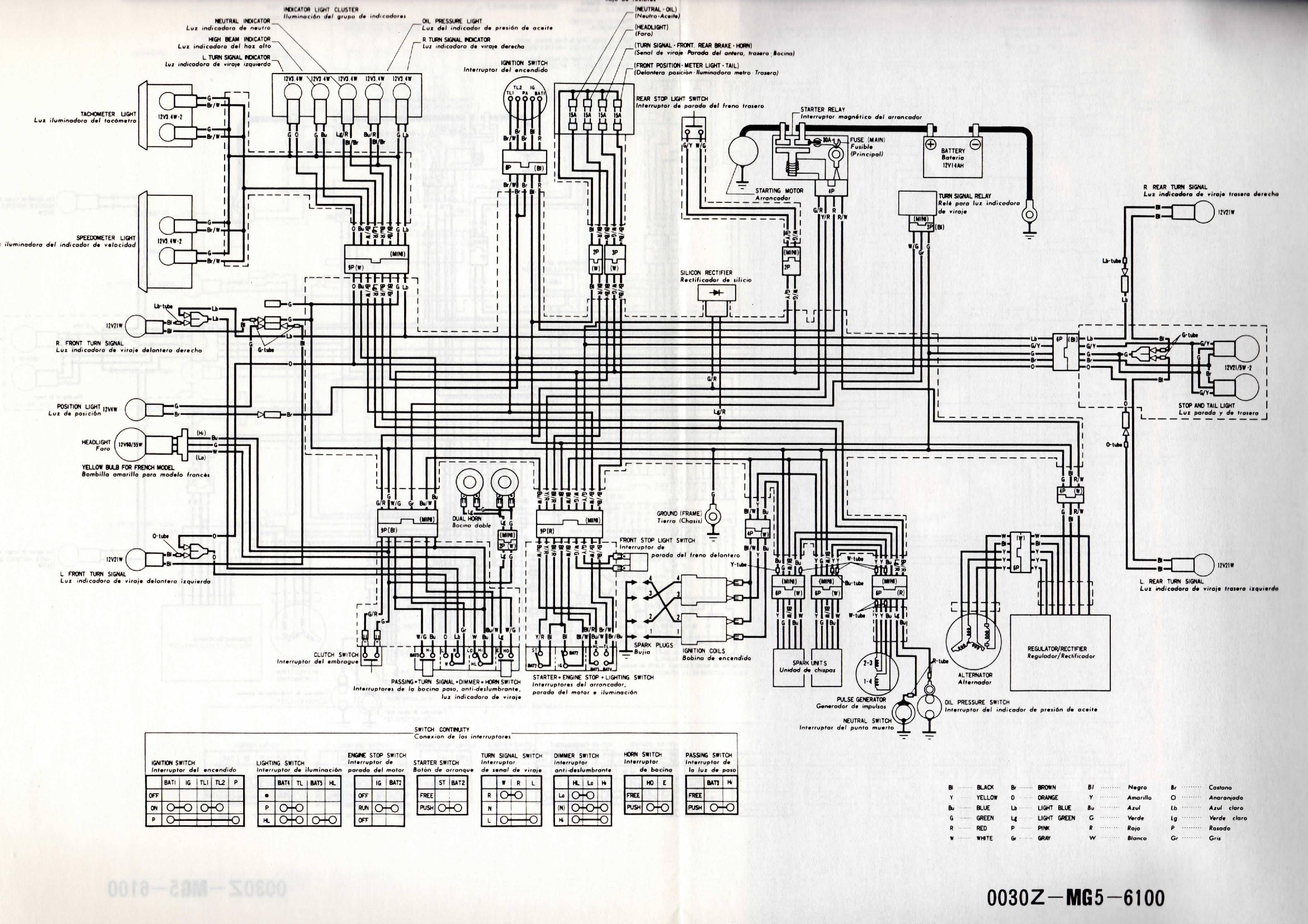 Cb1100f Wiring Diagram - WIRE Center •